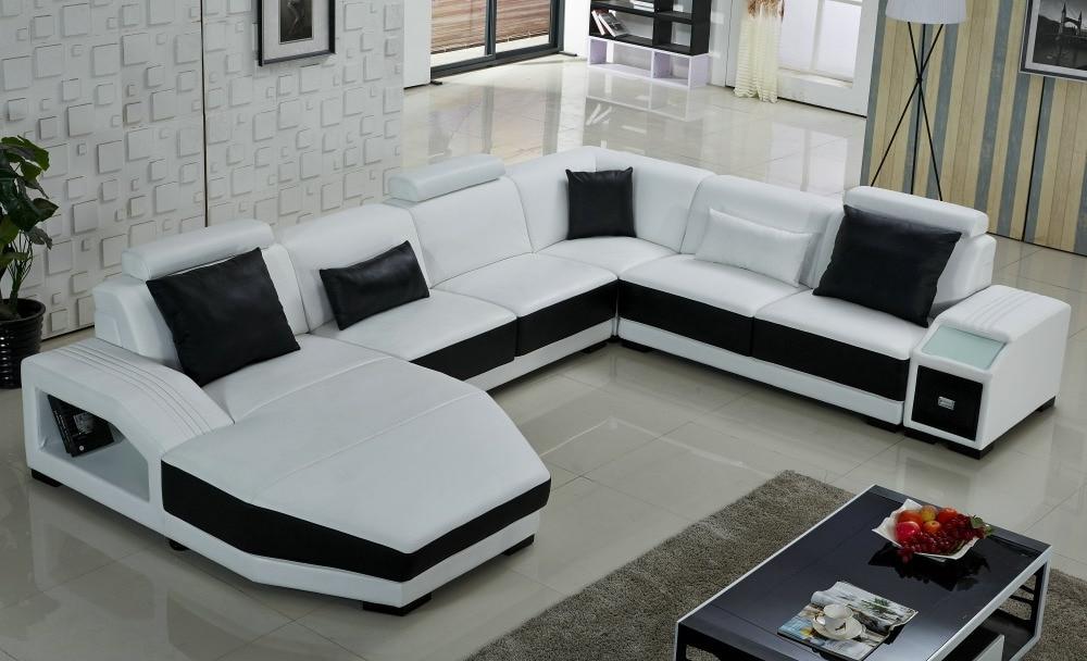 Sofas En U Qwdq White U Shaped sofa U sofa In Living Room sofas From Furniture On