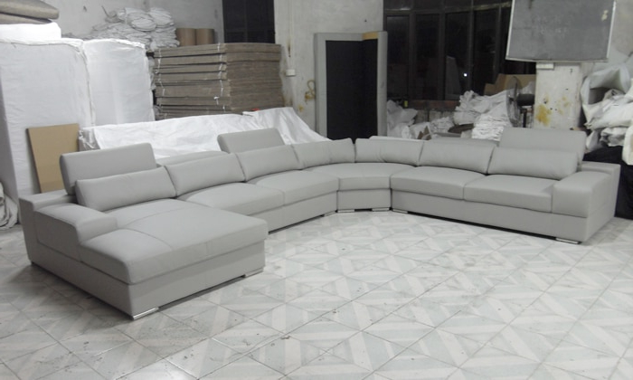 Sofas En U S5d8 2013 Latest House Designs Moden Leather sofa Large Size U Shaped