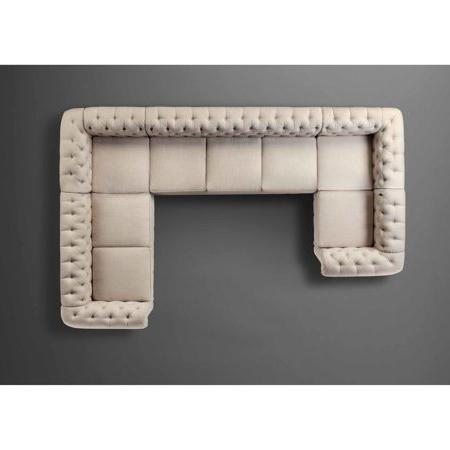 Sofas En U Txdf Alton Furniture Lisabetta Reversible Chaise Sectional sofas U