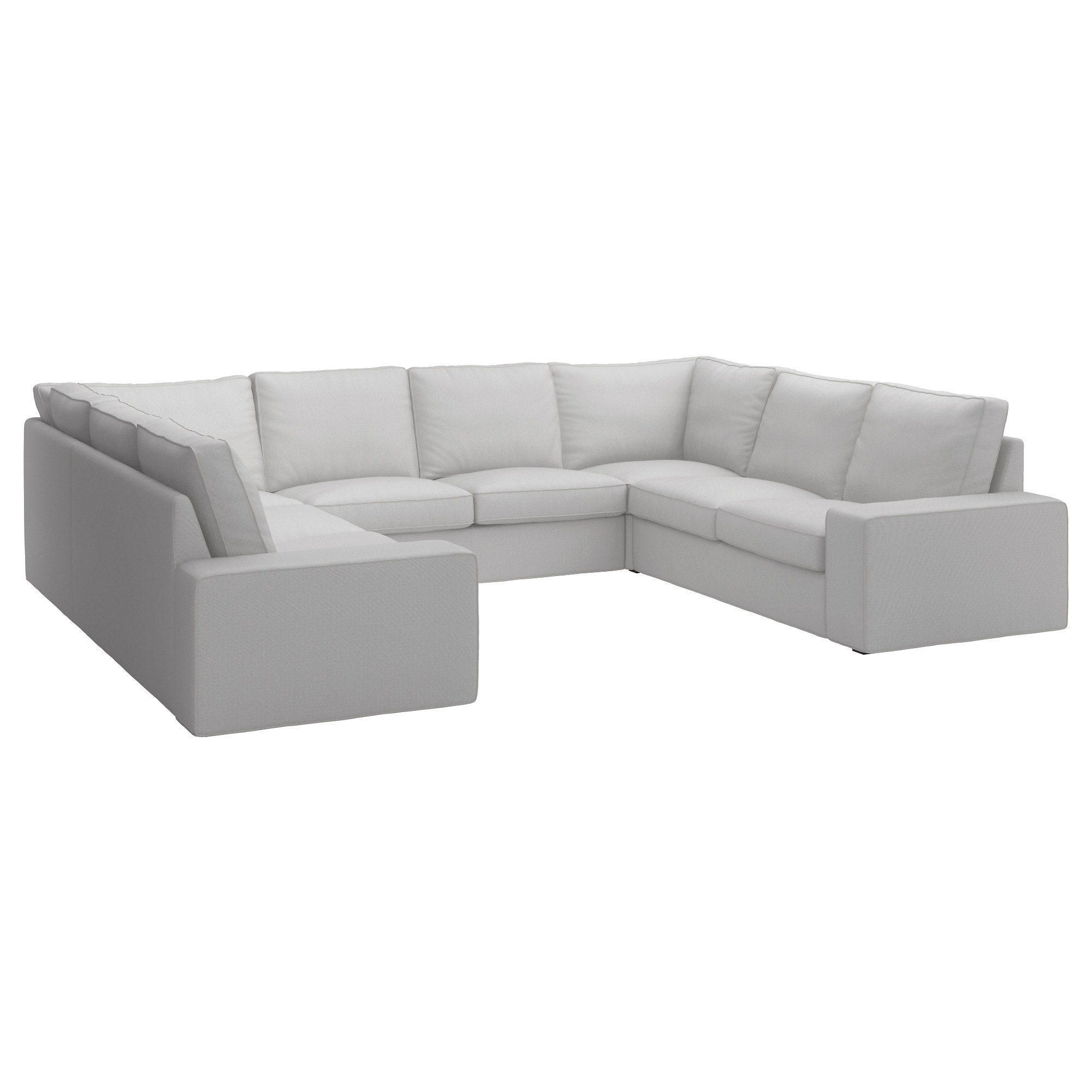Sofas En U Whdr Kivik sofà 6 Plazas En U orrsta Gris Claro Ikea