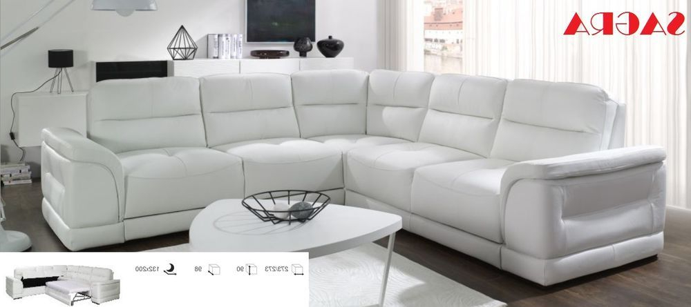 Sofas En Zaragoza 9ddf New Leather Corner sofa Zaragoza White Grey Brow Black Fabric 2 3