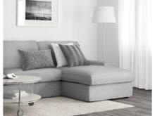 Sofas Gris 87dx Kivik 3 Seat sofa with Chaise Longue orrsta Light Grey Ikea