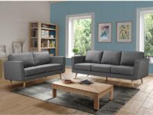 Sofas Gris Q5df sofà De Tela Gris Disponible En 3 O 2 Plazas Dovali