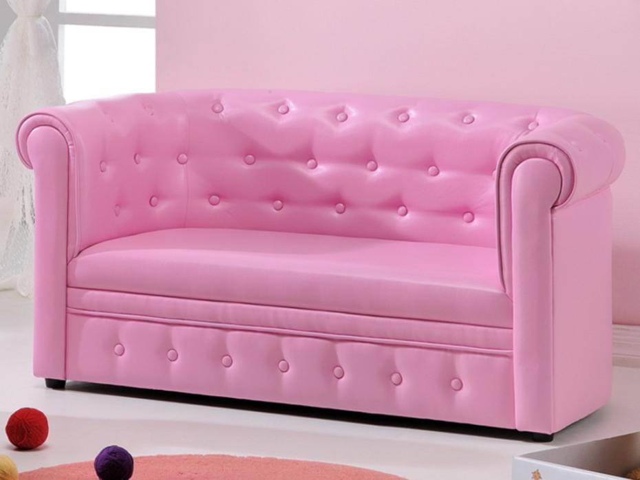 Sofas Infantiles T8dj sofas Para Ninos Chesterfield De Piel Sintetica Rosa O Plateada Tito