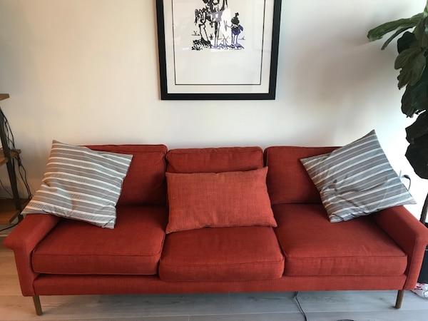 Sofas Leon 4pde Used West Elm Leon Wood Frame sofa for Sale In atlanta Letgo