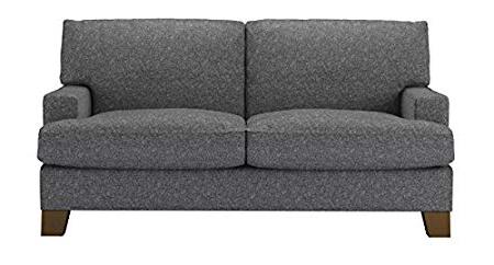 Sofas Leon E6d5 Leon Two Seat sofa In Cuckoo Grey Black sofas