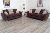 Sofas Leon S5d8 Leon 3 2 Seat sofas In Brown Fabric Ebay