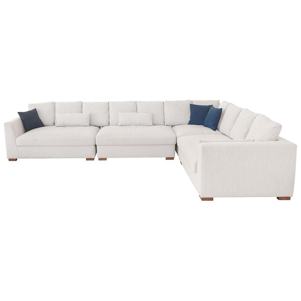 Sofas Modulares Conforama Qwdq sofà De Canto Modular Tecido Land Conforama