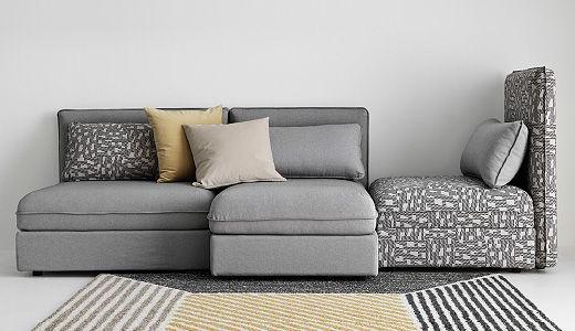 Sofas Modulares Ikea 3id6 Ikea Vallentuna Modular sofa Can Sleeper and Storage