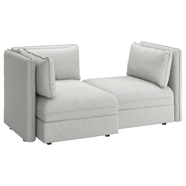 Sofas Modulares Ikea D0dg sofà Modular 2 Plazas Vallentuna Con Almacenaje orrsta Gris Claro