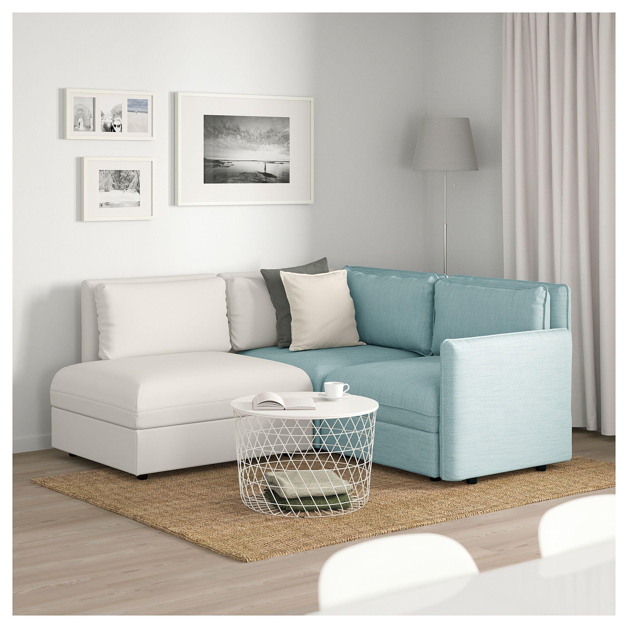 Sofas Modulares Ikea J7do Vallentuna Sectional 3 Seat with Storage Hillared Murum