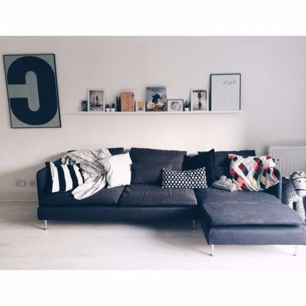 Sofas Modulares Ikea Txdf Ikea soderhamn Modular sofa In Dark Grey 3 Seater No