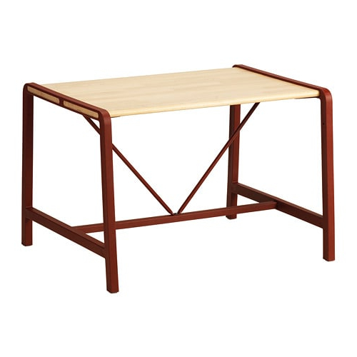 Sofas Para Niños Ipdd Ypperlig Mesa Para Nià Os Haya Rojo Oscuro 74 X 62 Cm Ikea