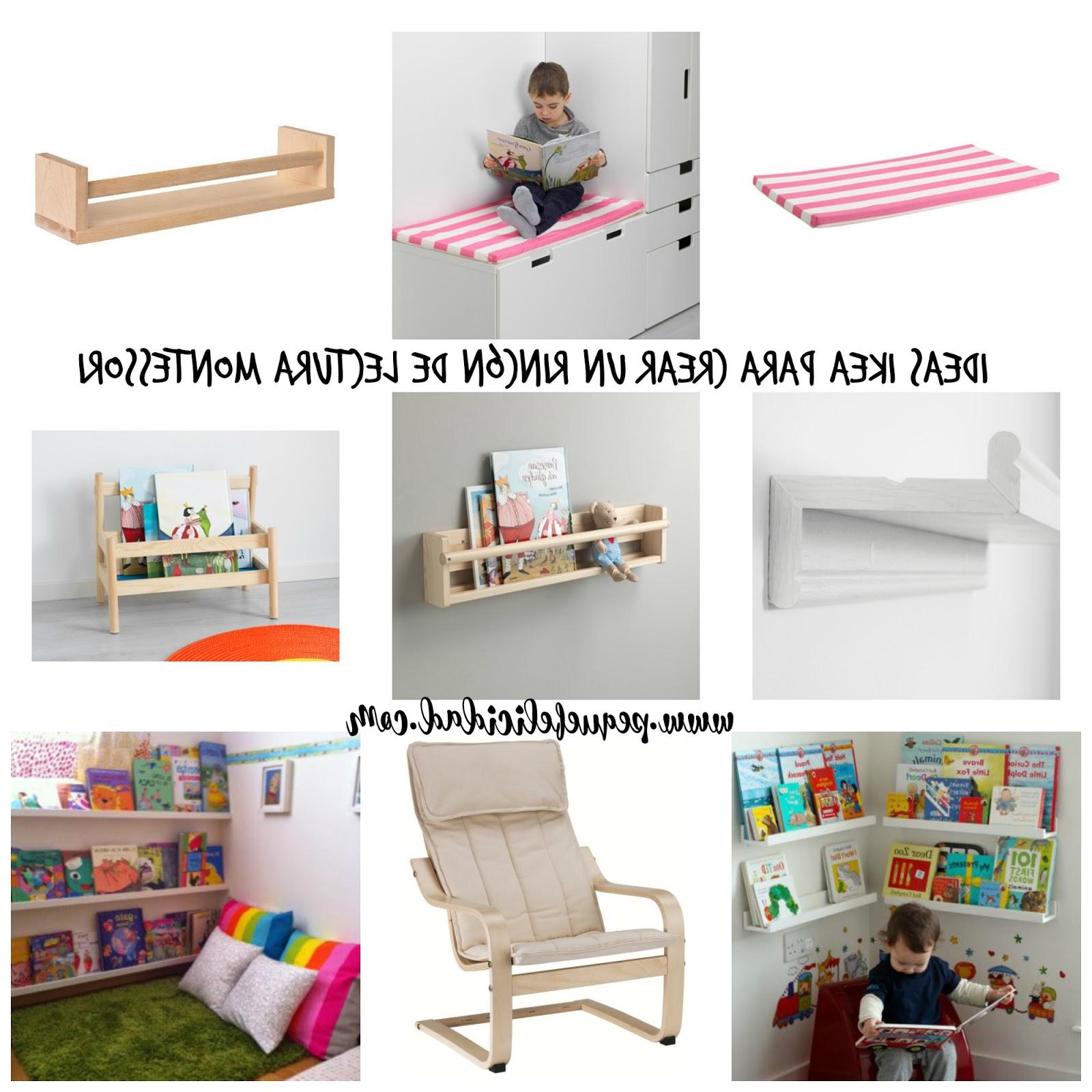 Sofas Para Niños J7do Pequefelicidad Ideas Ikea Para Crear Un Rincà N De Lectura Montessori