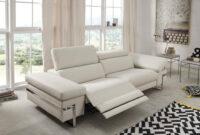 Sofas Piel Ipdd sofà Relax De En Piel De Diseà O Modelo Miami Color Blanco Sidivani