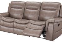 Sofas Piel Wddj sofà Relax 3 Plazas De Piel Edward Conforama