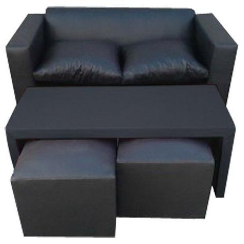 Sofas Puff Q5df Juegos De Living Sillon De 2 Cuerpos Mesa Puff sofas