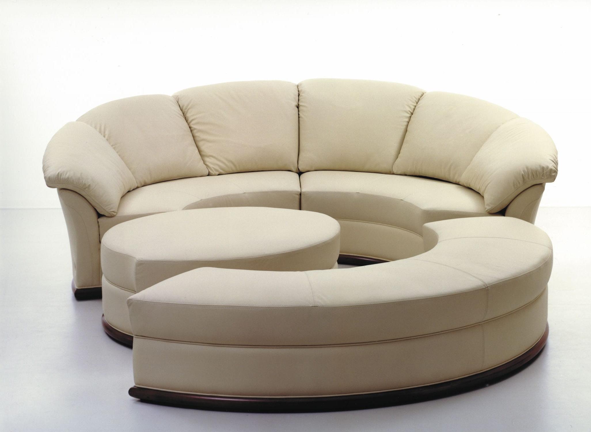 Sofas Redondos 87dx Fantastico sofas Redondos Rundes sofa Modulierbar Modern Leder