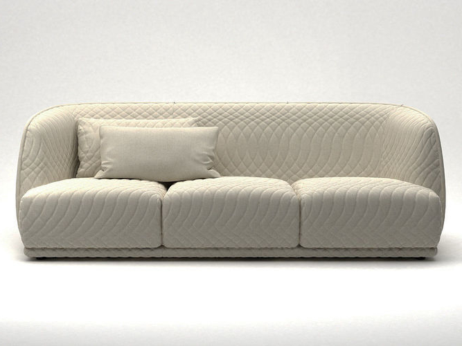Sofas Redondos Budm 3d Model Redondo sofa 245 Cgtrader