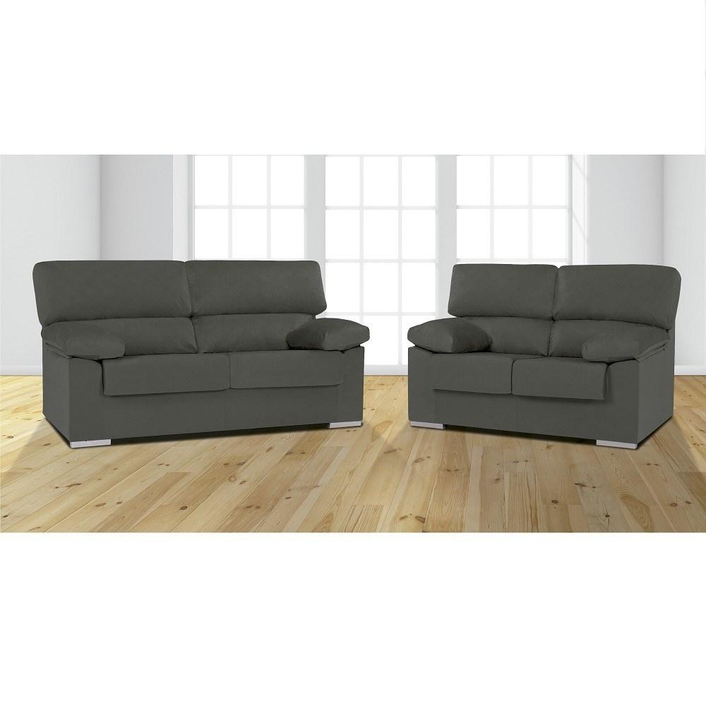Sofas Salamanca D0dg sofa Set 3 Seater and 2 Seater In Microfibre Fabric Salamanca