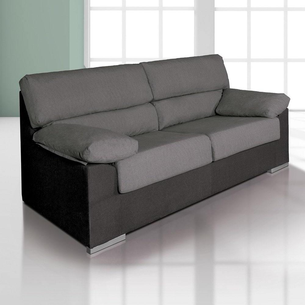 Sofas Salamanca Drdp Inexpensive 3 Seater sofa In Microfibre Fabric Salamanca Don Baraton