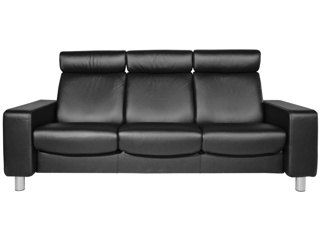 Sofas Stressless 9fdy Stressless Pause Reclining sofa by Stressless at Homeworld Furniture
