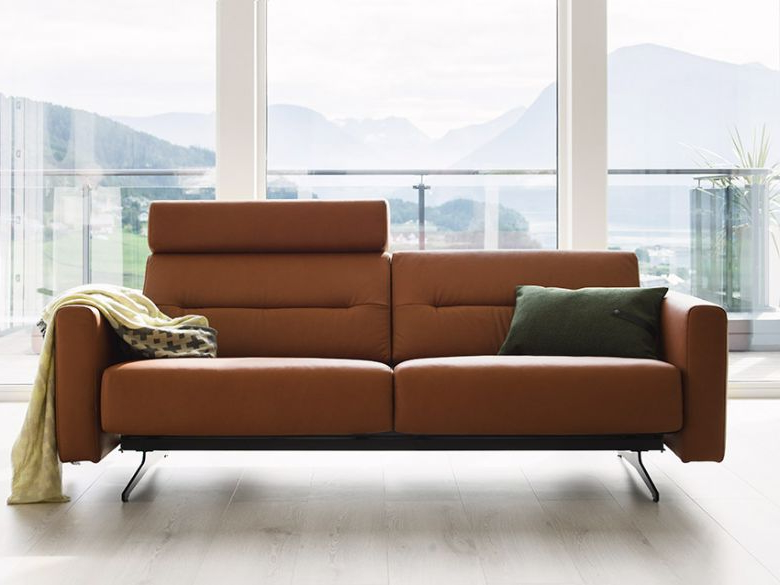 Sofas Stressless Dddy Stressless Stella Leather 2 Seater sofa