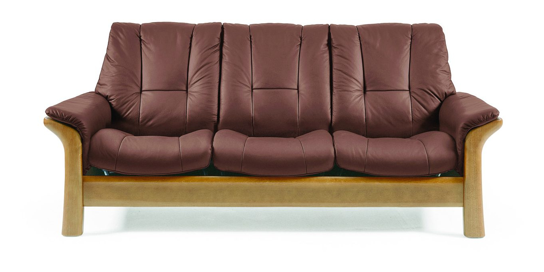 Sofas Stressless Dwdk Ekornes Stressless Windsor Low Back 3 Seater sofa