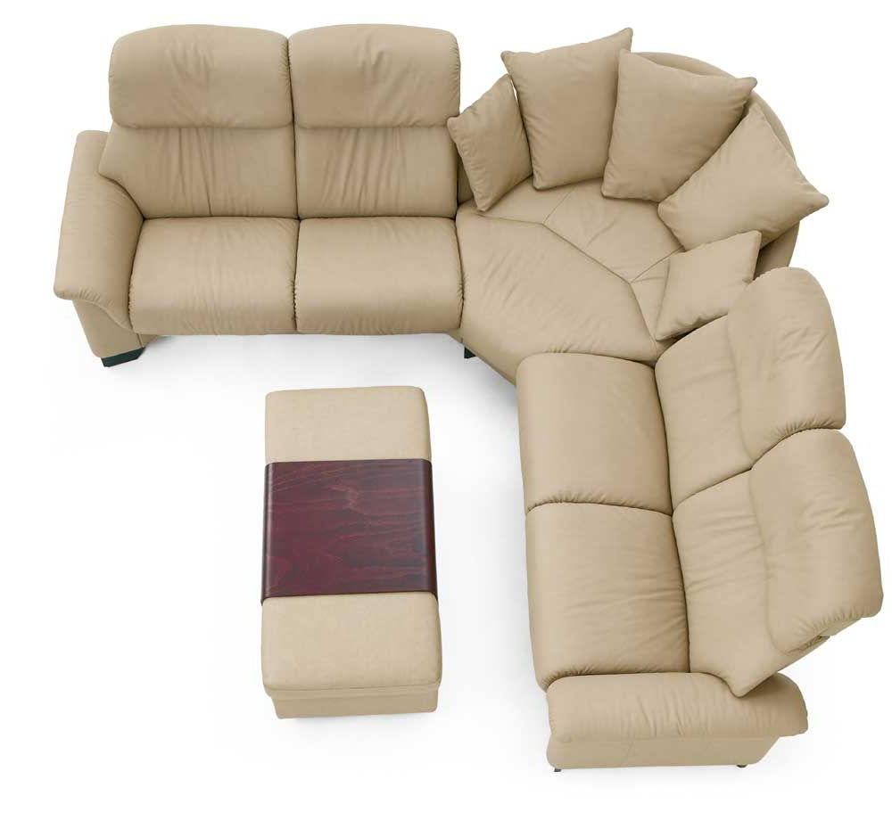 Sofas Stressless Q5df Stressless Paradise 3 Piece Sectional by Stressless by