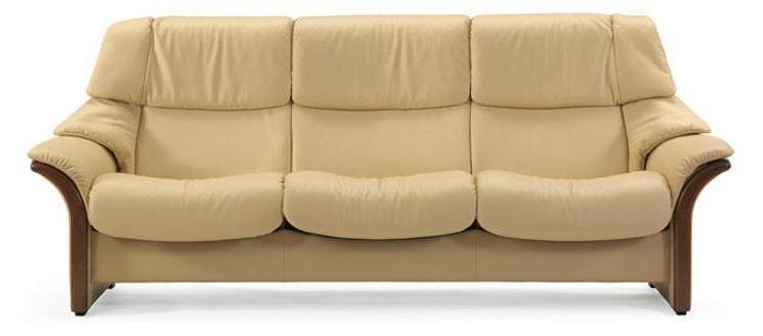 Sofas Stressless S5d8 Leather sofas Stressless Eldorado Highback Modern