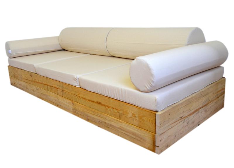 Sofas Terraza E6d5 sofa Balinesa Terraza Recubierto De Madera 106 X 246 Cm