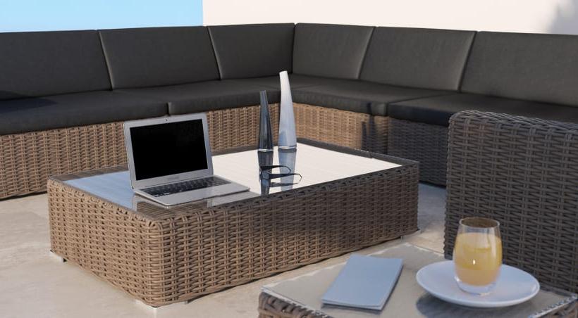 Sofas Terraza Whdr Mimbre Ii Renders 3d sofà S Terraza Exterior Domestika