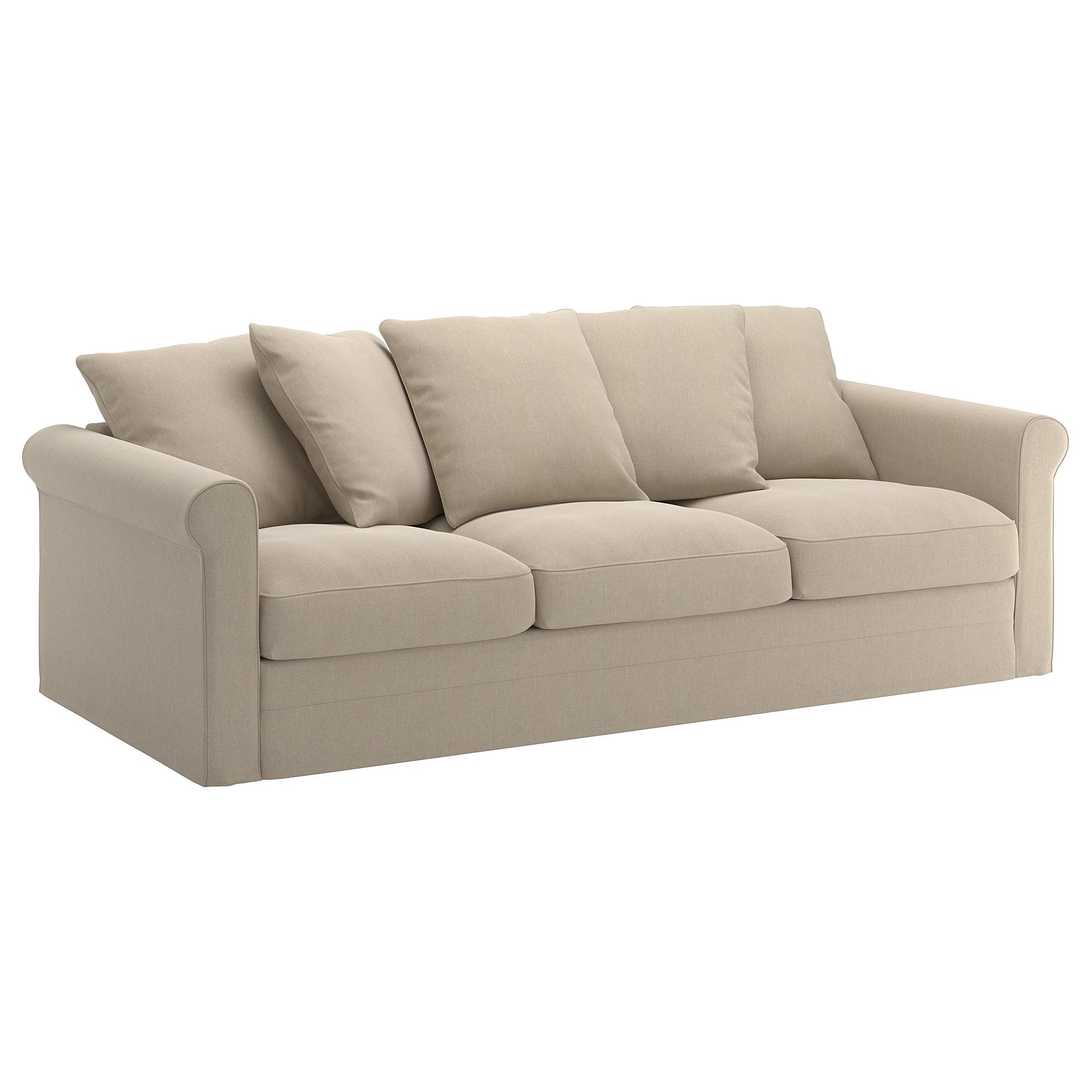 Sofas Tres Plazas Irdz Grà Nlid sofà 3 Plazas Sporda Natural Ikea