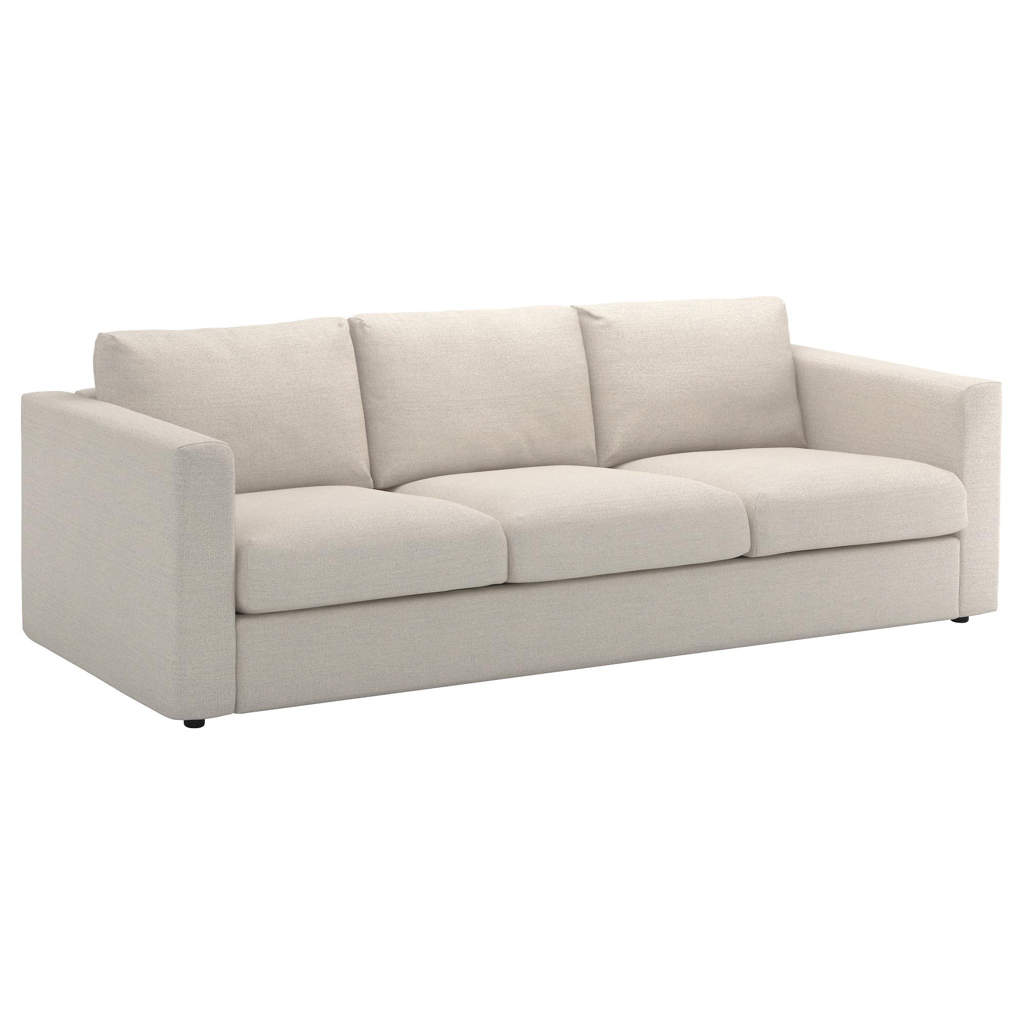 Sofas Tres Plazas Tldn Vimle sofà 3 Plazas Gunnared Beige Ikea