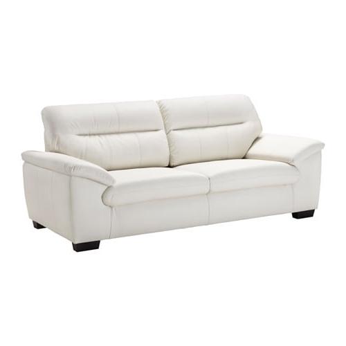 Sofas Tres Plazas Zwdg Malviken sofà 3 Plazas Kimstad Hueso Ikea