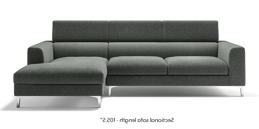 Sofas U3dh Chelsea Adjustable Sectional sofa Grey Urban Ladder