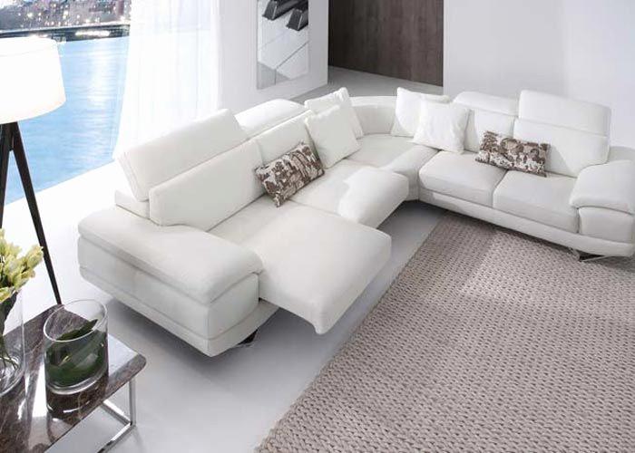 Sofas Valencia Outlet D0dg Outlet sofas Valencia Elegante sofa Esquinero Piel Blanca Buscar Con
