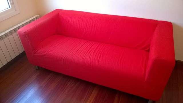 Sofas Y Sillones Ikea E6d5 Mil Anuncios sofa Rojo Ikea