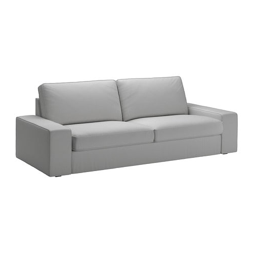 Sofas Y Sillones Ikea Kvdd Kivik sofà 3 Plazas orrsta Gris Claro Ikea