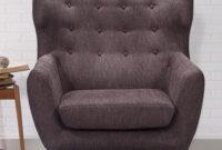 Sofasvalencia Txdf Valencia One Seater sofa In Cedar Brown Colour by Casacraft