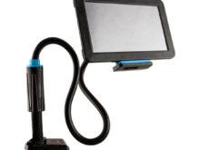 Soporte Para Tablet T8dj soporte Universal Para Tablet Flexible Y Con Sujecià N De Rosca Negro