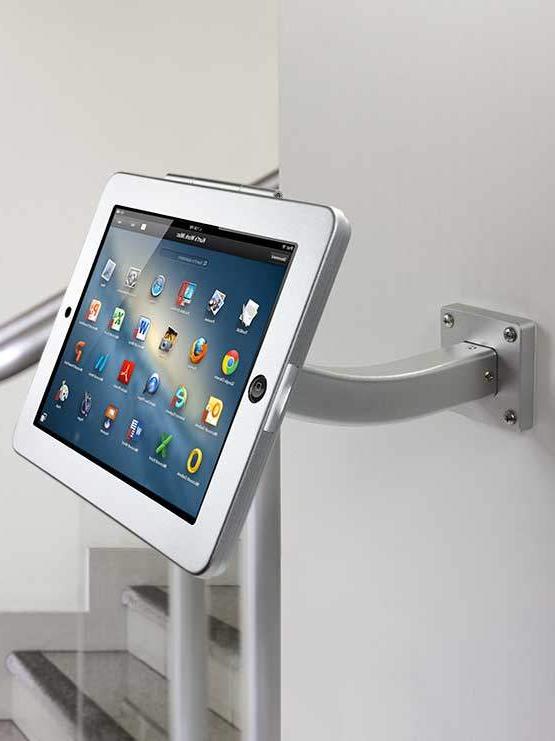 Soporte Pared Tablet Budm soporte Fijo Para Tablet Para Instalar En Paredes Mesas Mostradores
