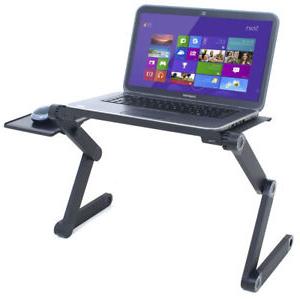 Soporte Portatil Cama 4pde Laptop Cooling Stand Tray Holder Riser Desk Table for Bed sofa