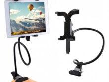Soporte Tablet Coche Carrefour E6d5 soporte Universal De Metal Flexible Para Tablet Con Pinza