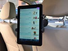 Soporte Tablet Coche Carrefour Fmdf soporte Reposacabezas Funda Para Tablet Lazer Alcampo 10 1