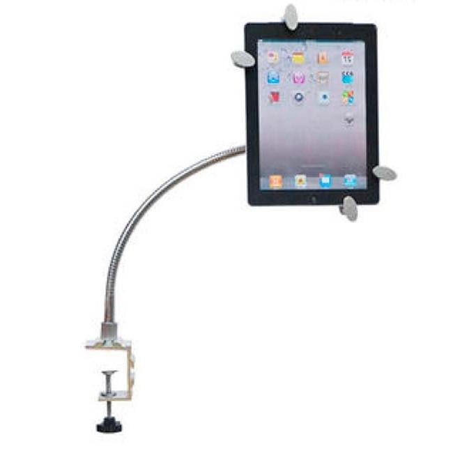 Soporte Tablet H9d9 soporte De Mesa Para 1 Tablet 7 10 Brazo Flexible Alta Calidad