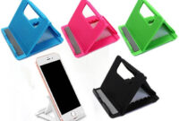 Soporte Tablet Mesa 4pde Us 0 61 6 Off Wangcangli Phone Holder Stand soporte Movil Mesa Universal Cell Phone Holder Tablet Stand Mount Mobile Phone Support In Phone Holders