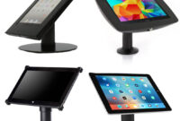 Soporte Tablet Mesa T8dj Base De Mesa Para Tablets O Ipads Antirobo Bases Y