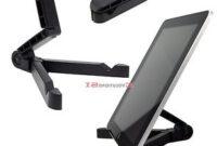 Soporte Tablet Mesa X8d1 Detalles De soporte Tablet Mesa Ebook Samsung Appel Ipad Universal Ligero Plegable atril New