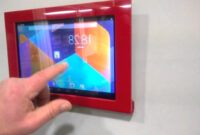 Soporte Tablet Pared O2d5 Marco soporte Tablet Youtube